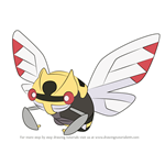 How to Draw Ninjask from Pokemon