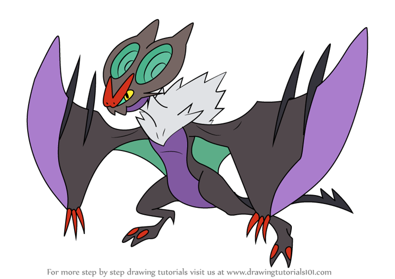noivern coloring pages - photo#9