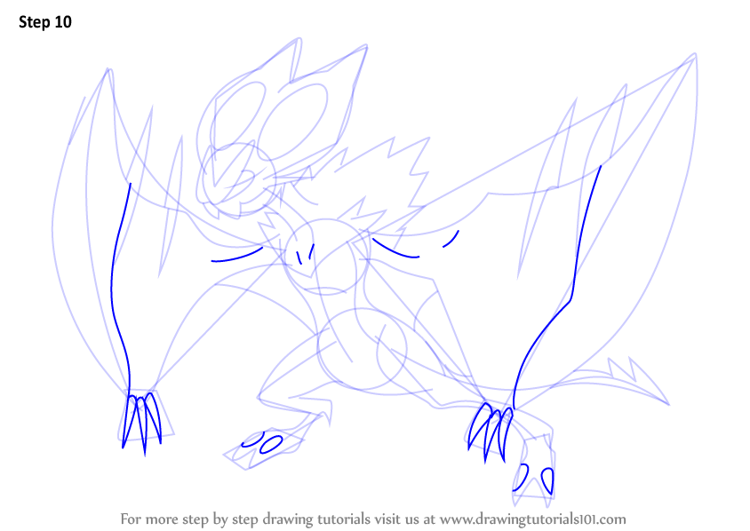 noivern coloring pages - photo#22