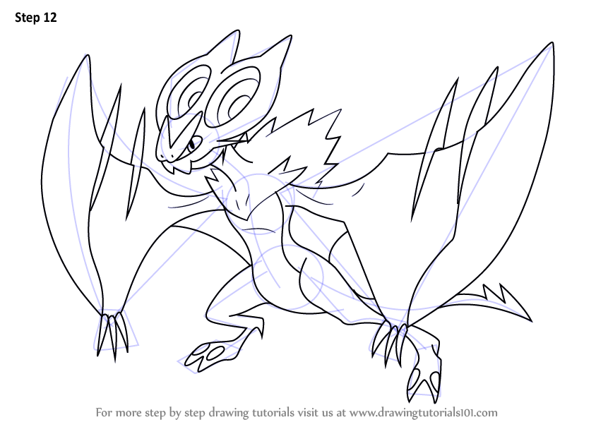 noivern coloring pages - photo#5