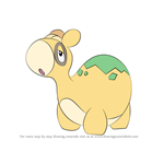 How to Draw Numel from Pokemon
