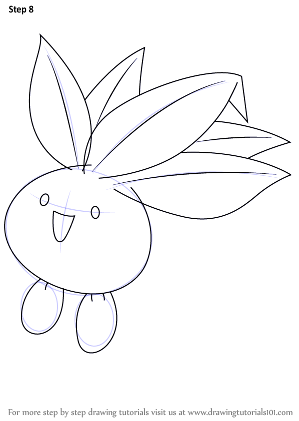 Learn How to Draw Oddish from Pokemon