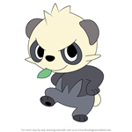 How to Draw Pancham from Pokemon