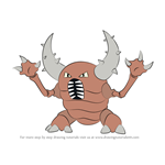 How to Draw Pinsir from Pokemon