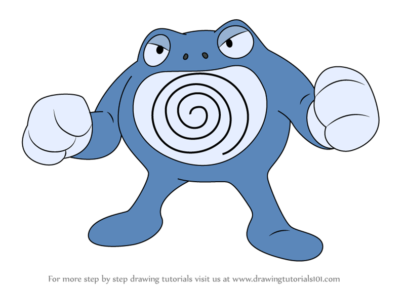 pokemon poliwag coloring pages - photo#21