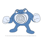 How to Draw Poliwrath from Pokemon