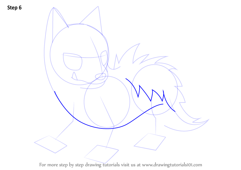 how to draw poochyena pokemon