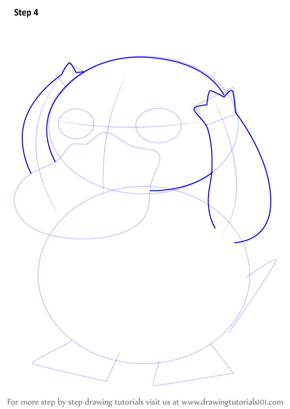 Learn How To Draw Psyduck From Pokemon (Pokemon) Step By