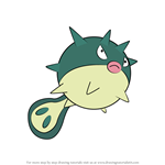 How to Draw Qwilfish from Pokemon