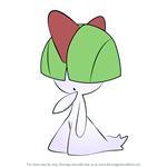 How to Draw Ralts from Pokemon