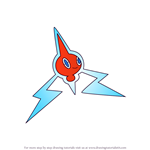 How to Draw Rotom from Pokemon