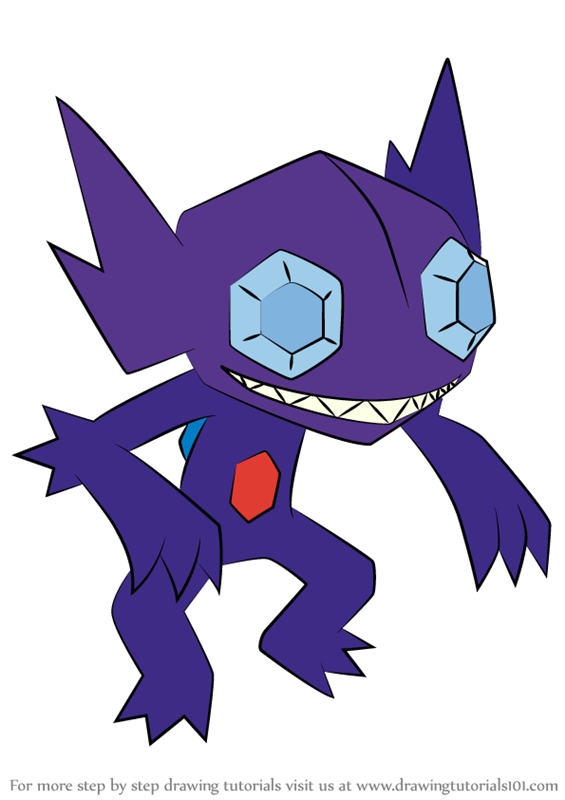 Learn How to Draw Sableye from