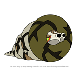 How to Draw Sandaconda from Pokemon