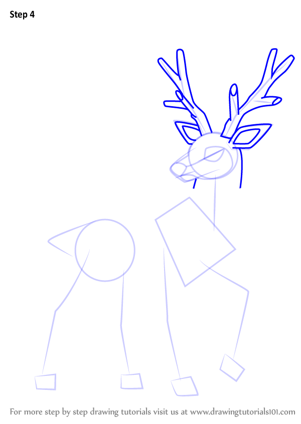 pokemon sawsbuck winter coloring pages - photo#20