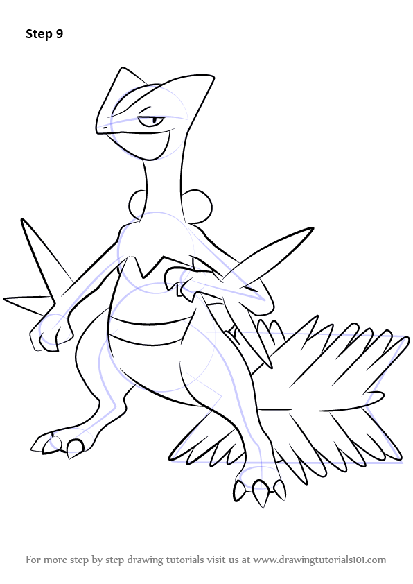 mega ampharos coloring pages - photo#17
