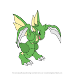 How to Draw Scyther from Pokemon