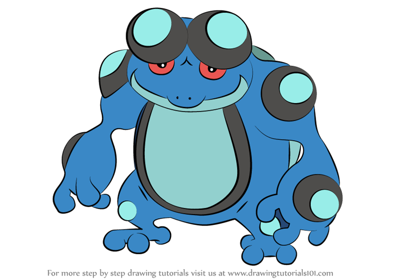 Learn How to Draw Seismitoad from Pokemon (Pokemon) Step ...