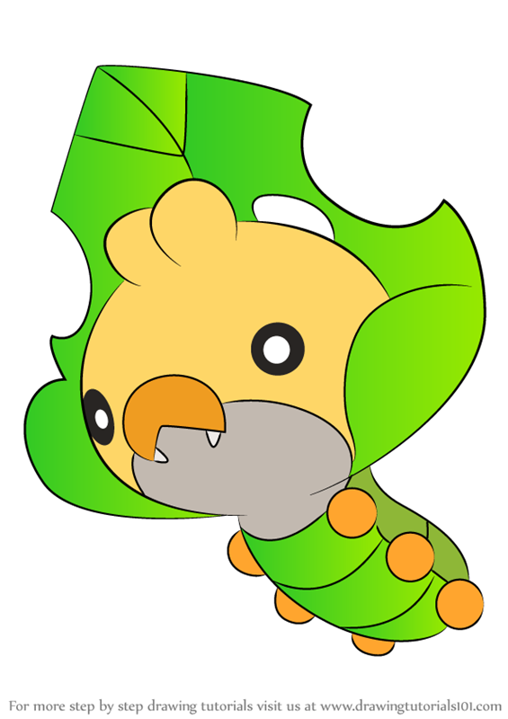 sewaddle pokemon coloring pages - photo#8