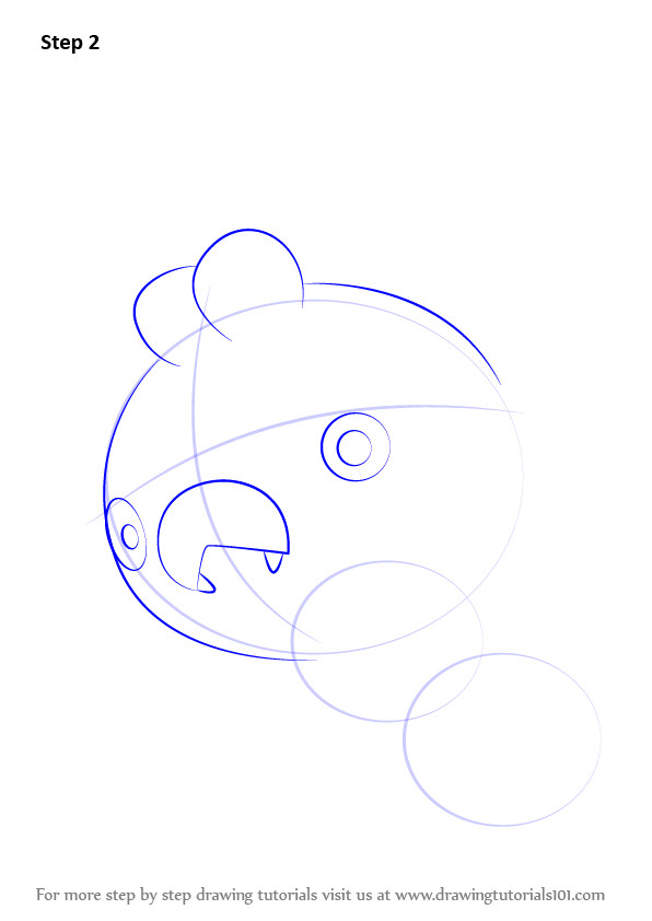 how to draw 2 1 sperical head