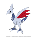 How to Draw Skarmory from Pokemon