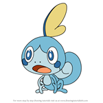 How to Draw Sobble from Pokemon