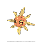 How to Draw Solrock from Pokemon