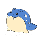 How to Draw Spheal from Pokemon