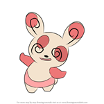 How to Draw Spinda from Pokemon