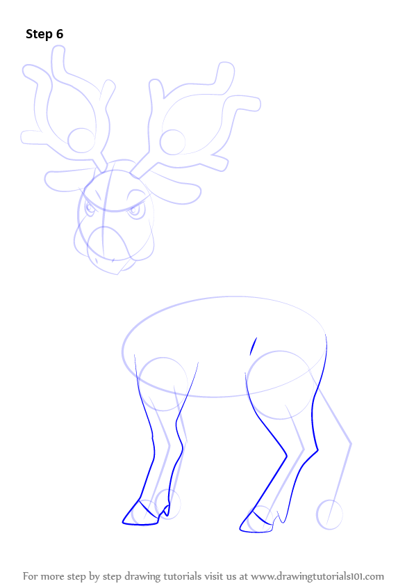stantler pokemon coloring pages - photo#16