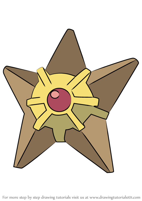 Learn How to Draw Staryu from Pokemon