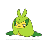 How to Draw Swadloon from Pokemon