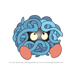 How to Draw Tangela from Pokemon