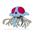 How to Draw Tentacruel from Pokemon