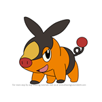 How to Draw Tepig from Pokemon