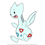 How to Draw Togetic from Pokemon