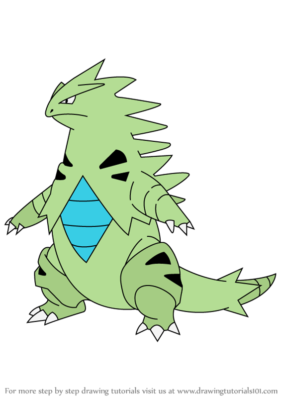 tyranitar coloring pages - photo#19