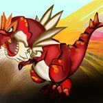How to Draw Tyrantrum from Pokemon