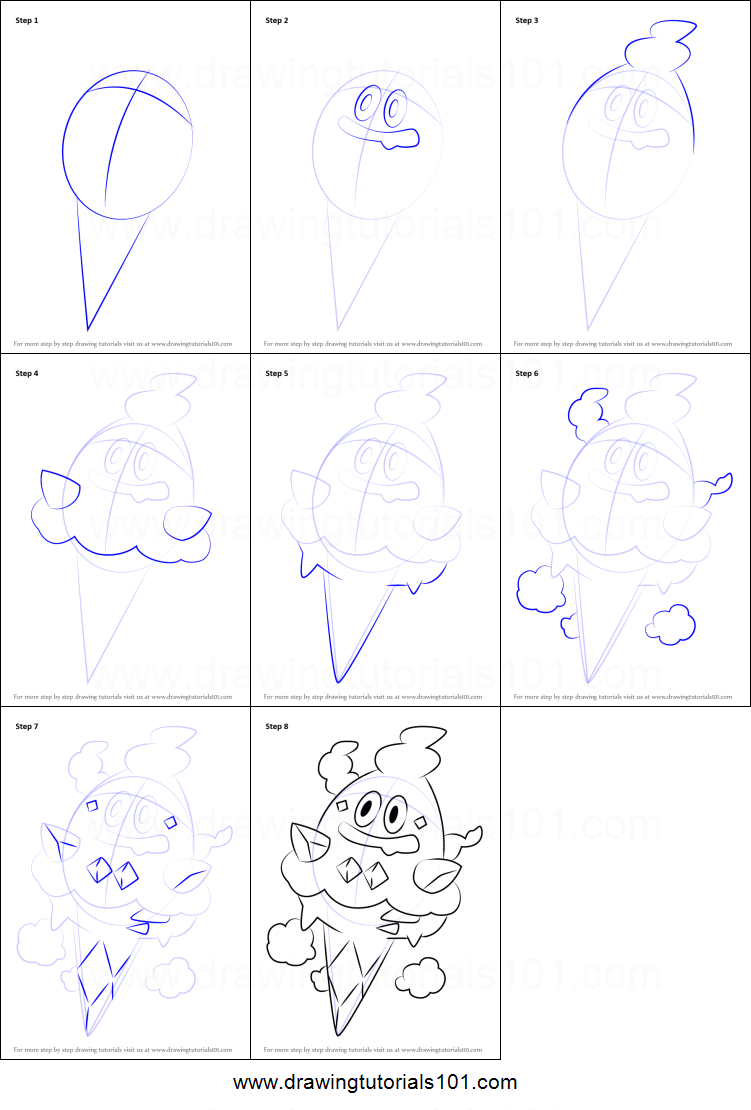 71 pokemon coloring pages vanillish pokemom free for Free online drawing lessons step by step