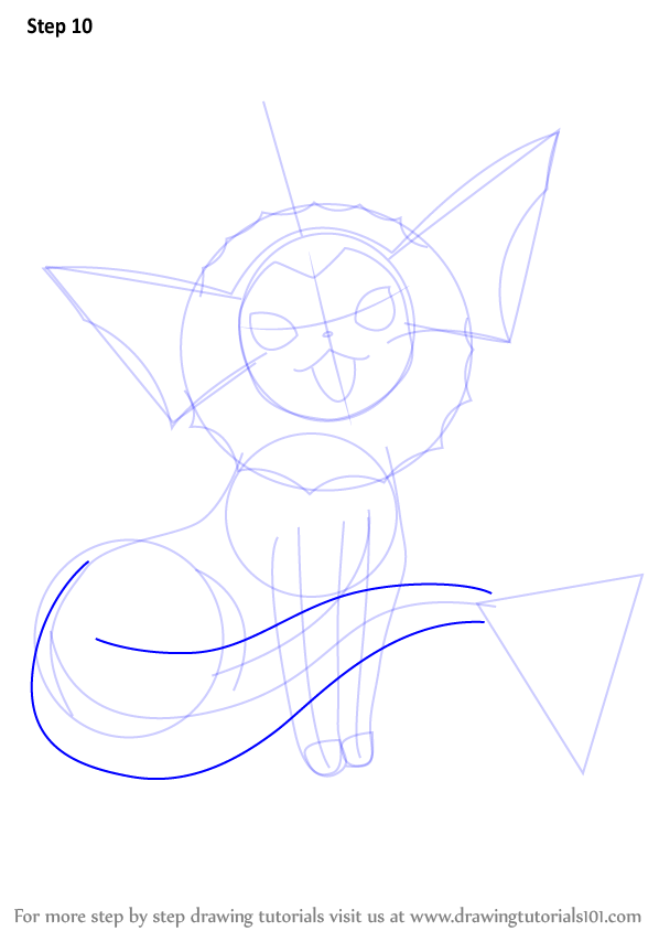 How To Draw Pok Learn How To Draw Vaporeon From Pokemon