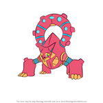 How to Draw Volcanion from Pokemon