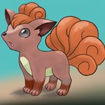 How to Draw Vulpix from Pokemon