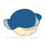 How to Draw Wailmer from Pokemon