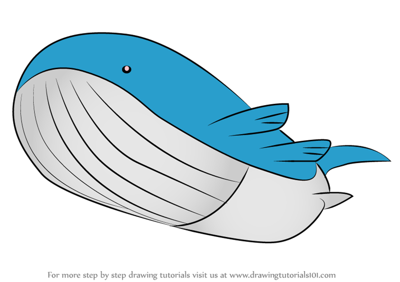 mega wailord coloring pages - photo#5