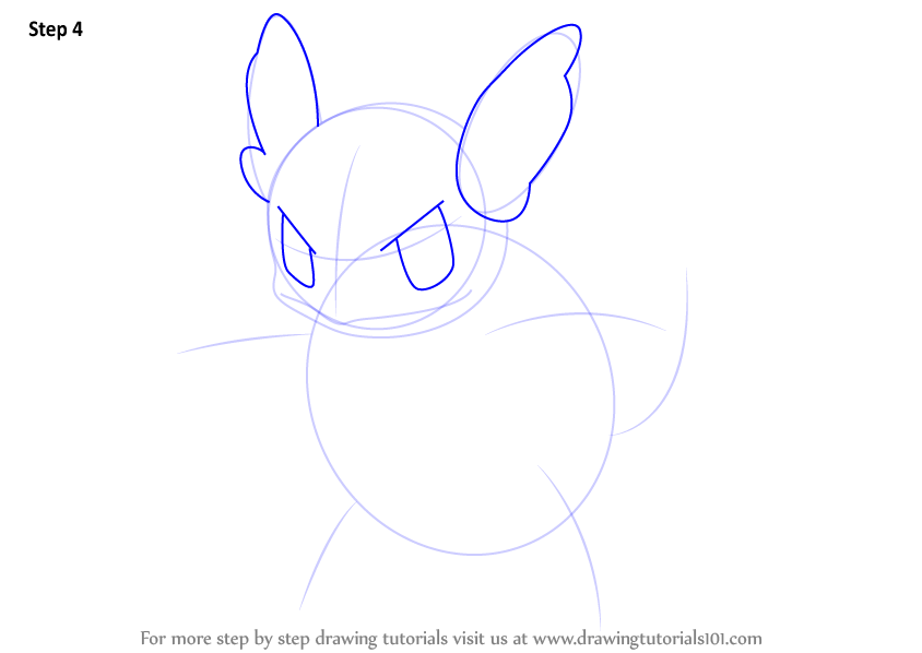 Learn How to Draw Wartortle from Pokemon (Pokemon) Step by ...