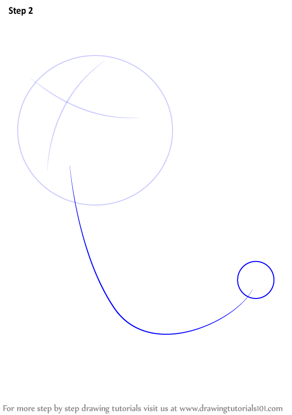 how to draw a line with a circle indesig