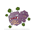 How to Draw Weezing from Pokemon