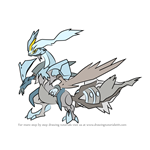 How to Draw White Kyurem from Pokemon