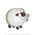 How to Draw Wooloo from Pokemon