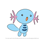 How to Draw Wooper from Pokemon
