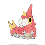 How to Draw Wurmple from Pokemon